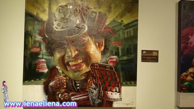 Pameran Solo Nik Mohd Shazmie di Lot 123, Nando's Chinatown