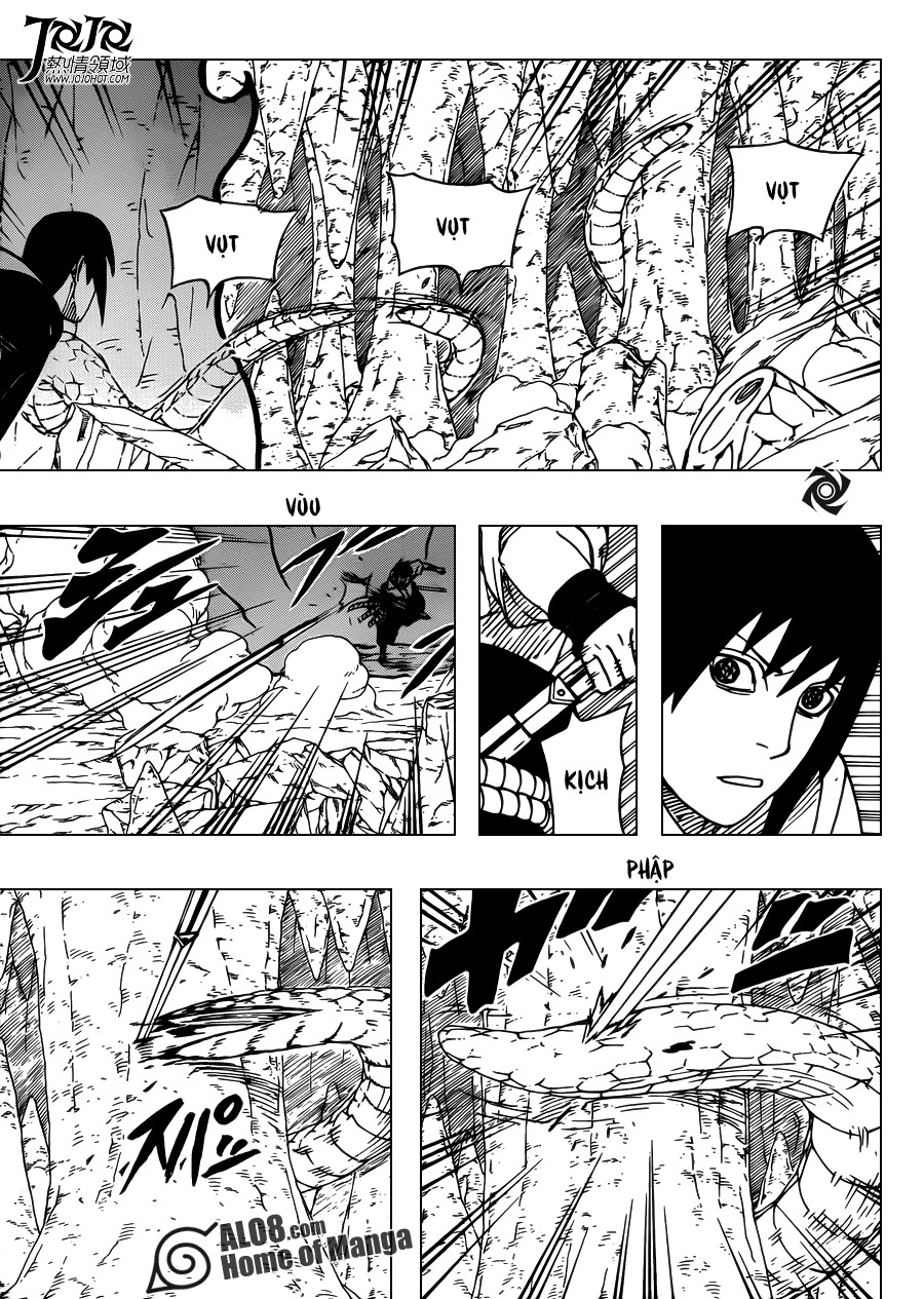 Naruto chap 579 Trang 8 - Mangak.info