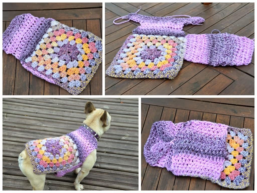 Crochet Dog Sweater Tutorial ~ Traitoro for .