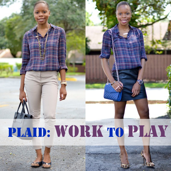 Plaid For Work And Play | Fall Outfit Ideas