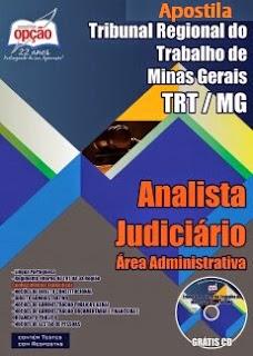 Apostila TRT MG 2015 (3ª Região) Cargos Anslista Judiciário e Analista