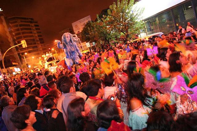 Agenda de las fiestas de Quito 2012 zona Calderón