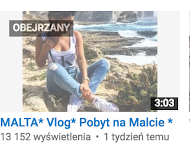 Mój kanał na You Tube