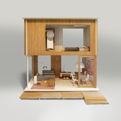 Make it perfect things i 39 m crushing dollhouses for Big modern dollhouse