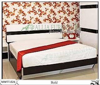 Tempat Tidur Minimalis Modern Type Bold