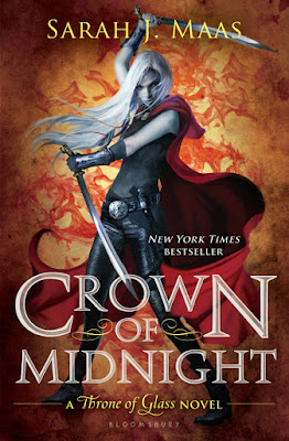 Crown of Midnight by Sarah J Maas Cover