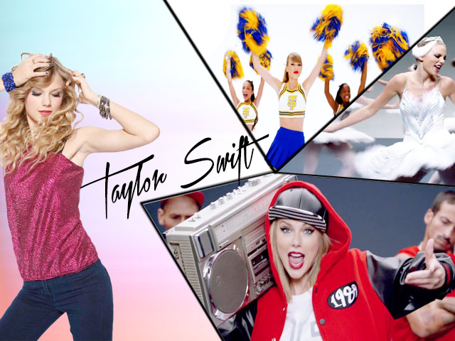 shake it off taylor swift music letter notation with