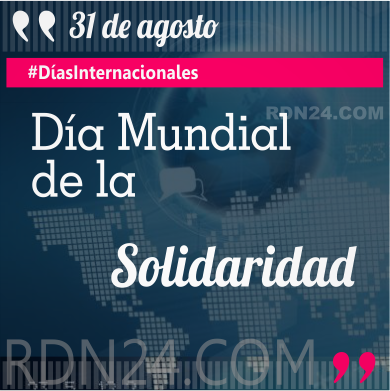 Día Mundial de la Solidaridad #DíasInternacionales