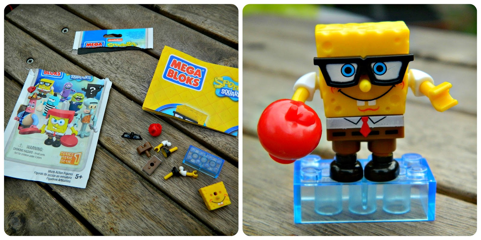 Spongebob Squarepants Mega Bloks Series 1 Blind Bag