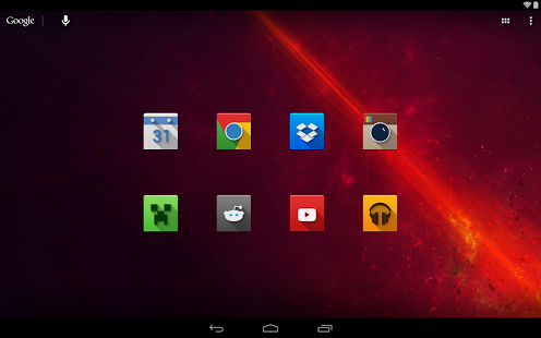 NOX - Icon Pack free android app