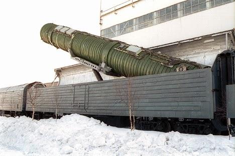 Jawab Tindakan AS, Rusia Rancang Kereta Tempur Nuklir Terbaru