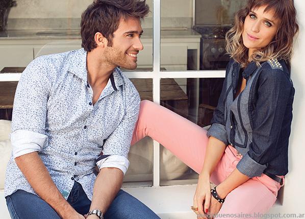 Taverniti moda verano 2014 ropa de mujer camisas de jean 2014.