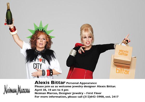 Alexis Bittar at Neiman Marcus