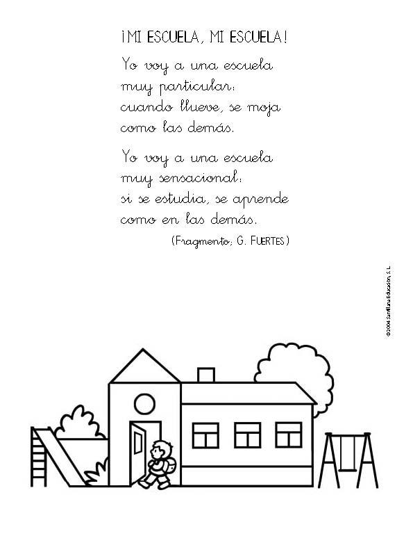 Poemas infantiles cortos - Imagui