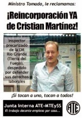 ¡Reincorporación de Cristian Martínez!