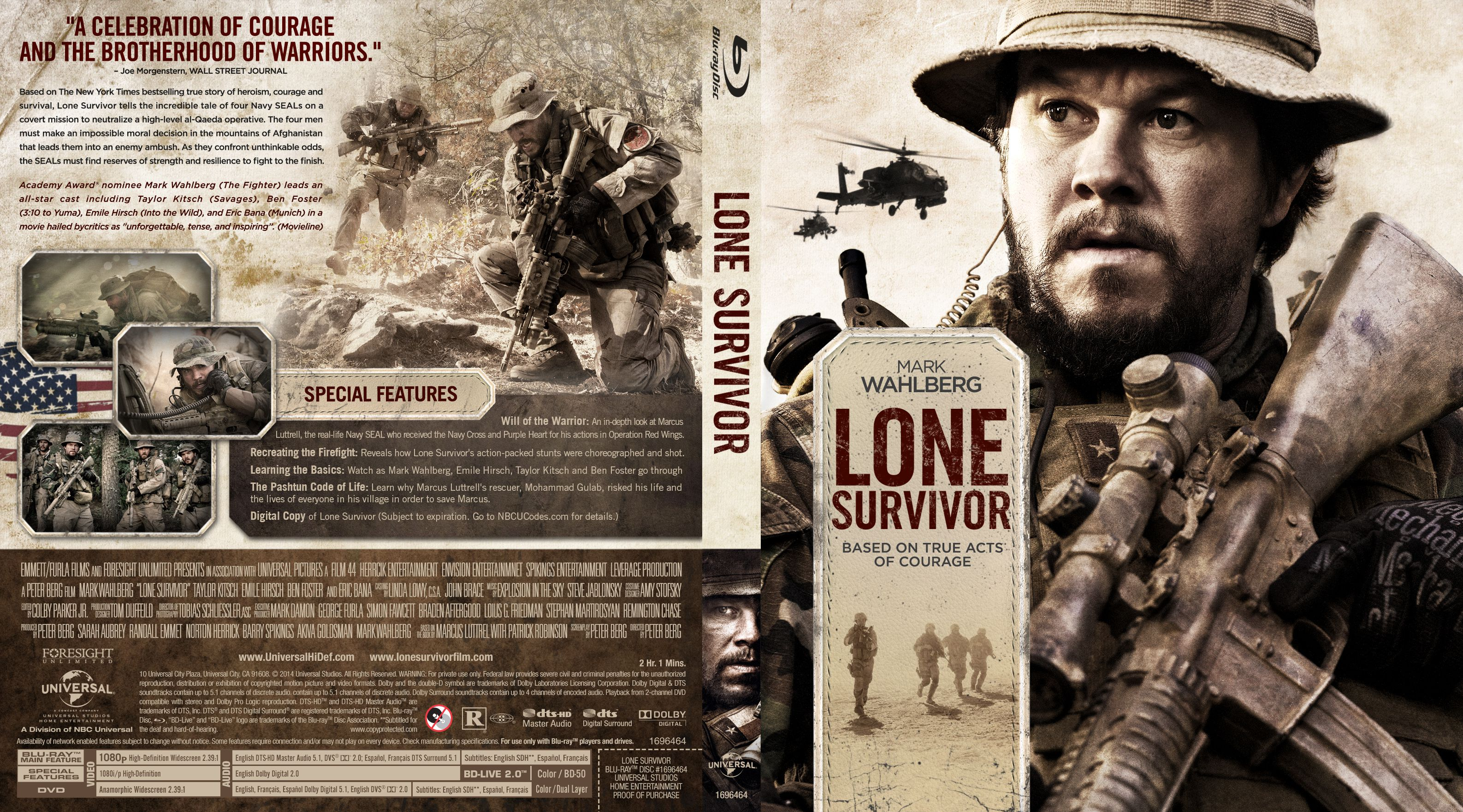 Capa Bluray Lone Survivor