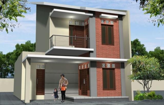 rumah minimalis bertingkat 2