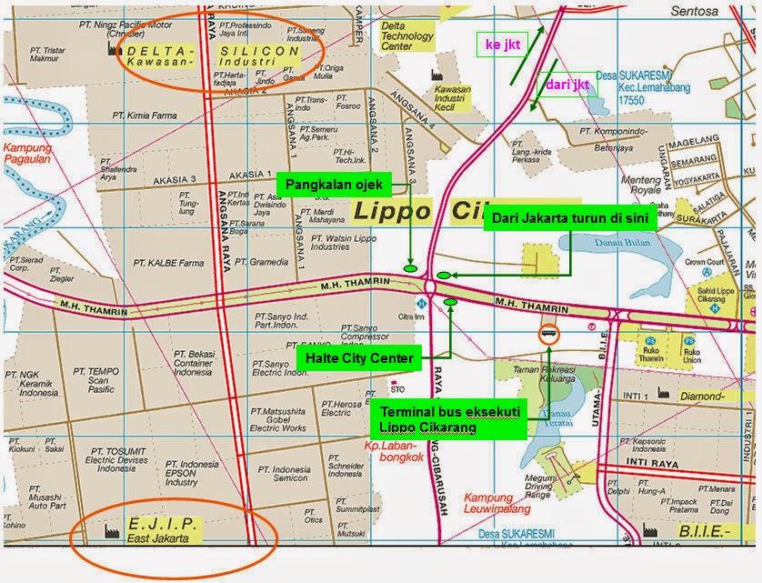 Daftar Alamat Pt Di Kawasan EJIP Cikarang