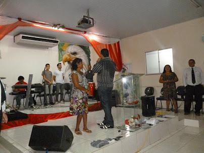 Pastor Alailson Amorim em Vila do Cabanos