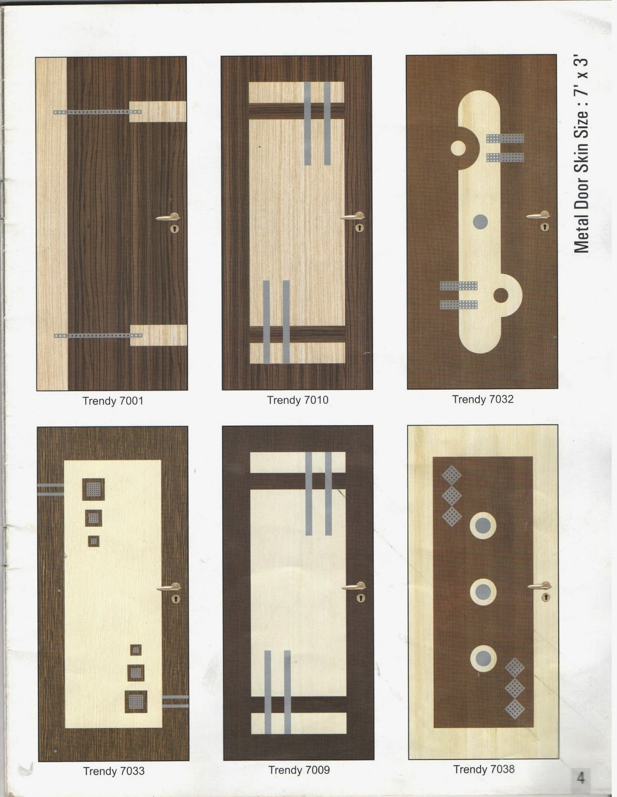 Radha laminates plywood pvc routed doors moulded - Flush door designs for home ...