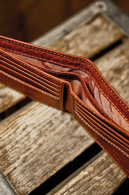 Buffalo Jackson Trading Co Bison Leather Wallet For Men