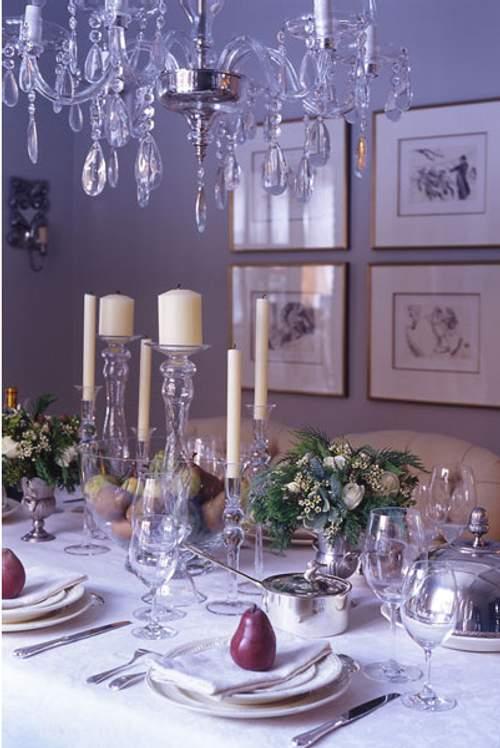Tilbury decoraci n mesas de navidad - Decoracion mesa de navidad ...