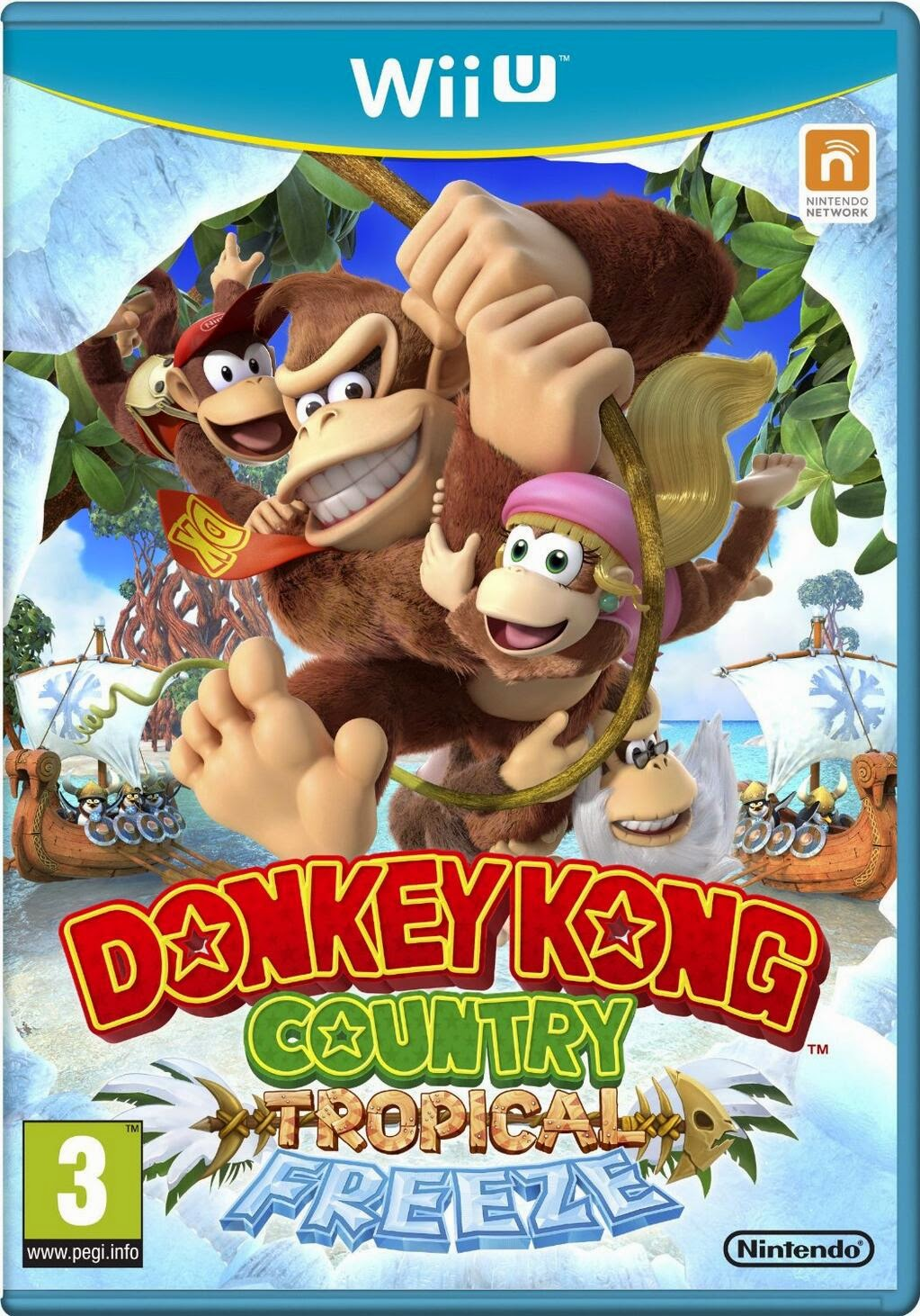 donkey kong, tropical freeze, wii u, box, cheats
