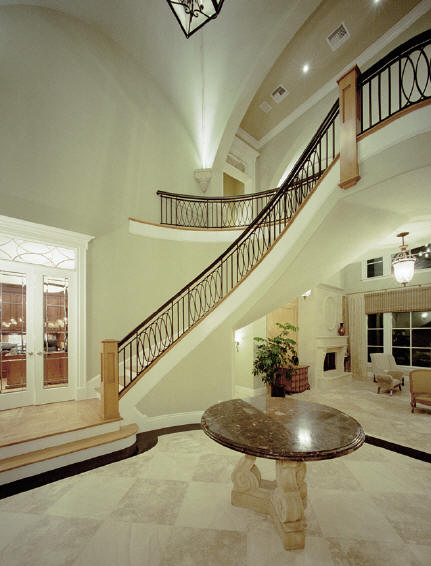 New home designs latest luxury home interiors stairs Luxury house plans with photos of interior