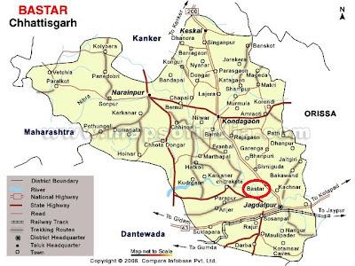 Bastar Map