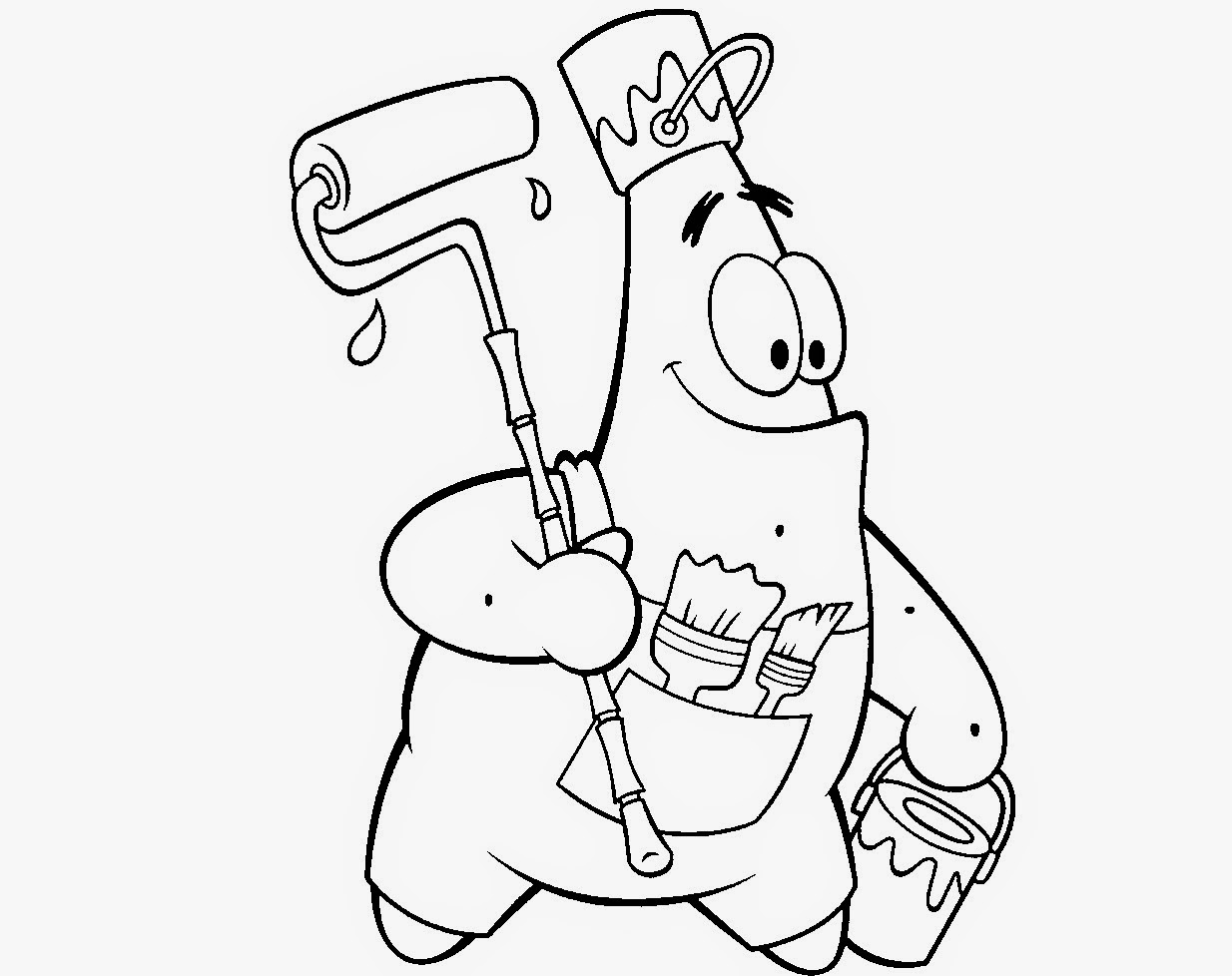 Bob Esponja Coloring Drawing Free wallpaper