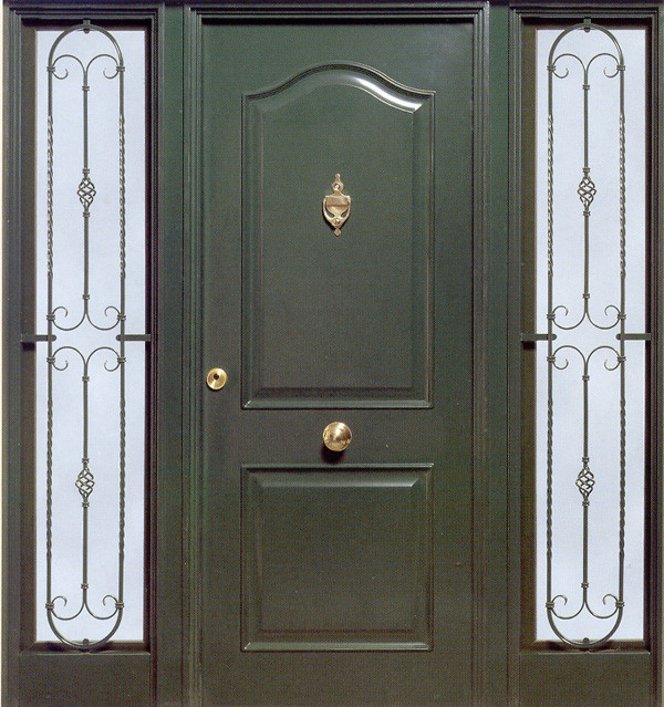 Marzua puertas met licas Puertas metalicas usadas