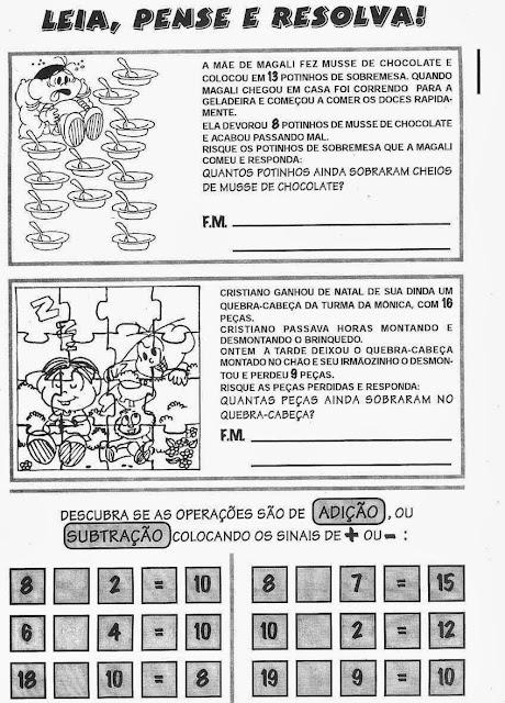 Atividades de Matemática para o 2º Ano, atividades para imprimir, ensino fundamental, matemática,desafios matemáticos..