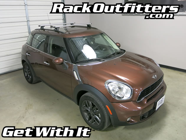 Awesome This Complete Multi Purpose Base Roof Rack Is For The 2011, 2012, 2013,  2014 And 2015* Mini Countryman With Flush Side Rails, Identified By  Protruding Trim ...