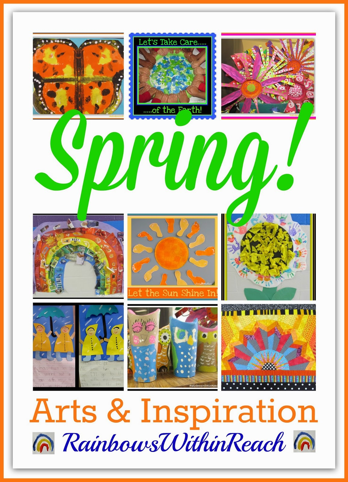 Spring Arts and Inspiration via RainbowsWithinReach
