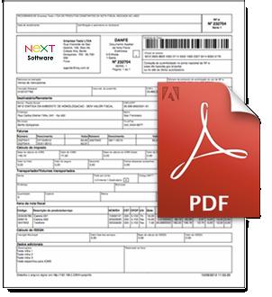 NeXT ERP NFe 3.10 DANFe PDF