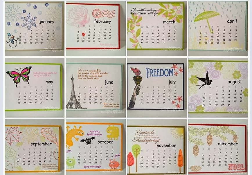 November and December 2014 Calendar