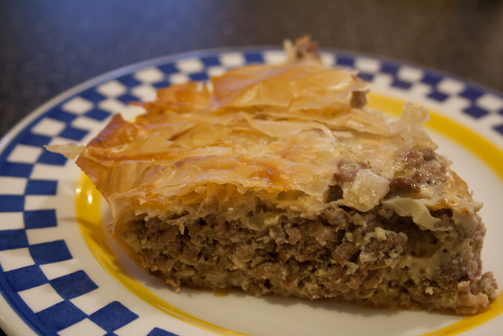 Lisa Cooks: Ground Beef Pie