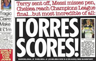 the sun torres scores