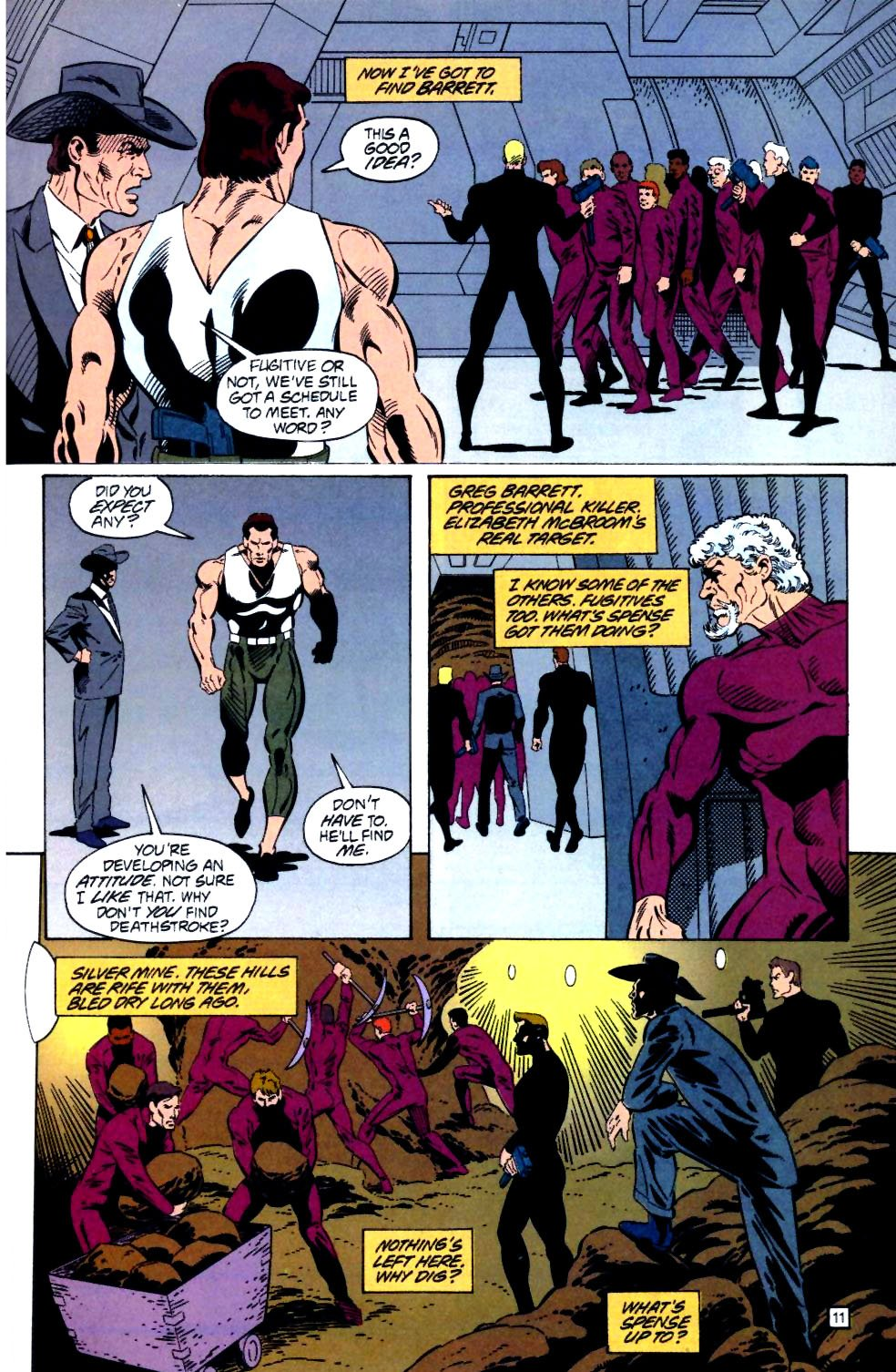 Deathstroke (1991) Issue #25 #30 - English 12