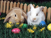 Conejo de Pascua conejo huevos de pascua