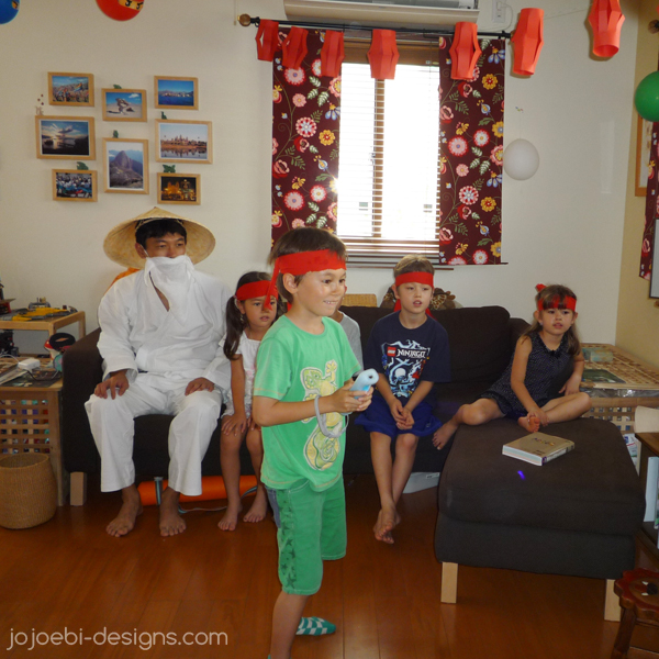 Jojoebi Designs: Ninjago Birthday Party