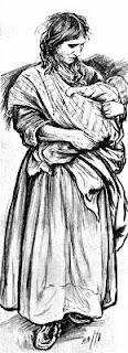 von Herkomer: Gypsy with child