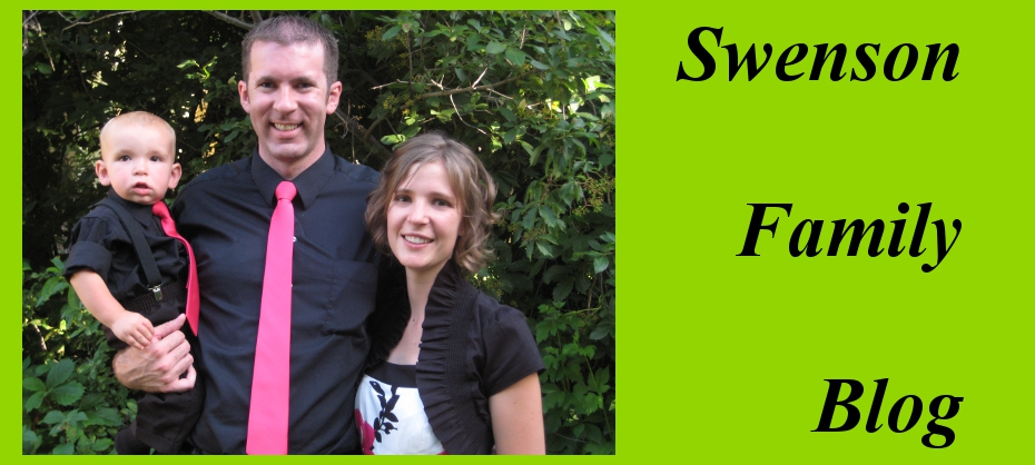Swenson Family Blog