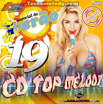 Cd Top Melody O Original 2013 Vol.19 - Dj Blackmix