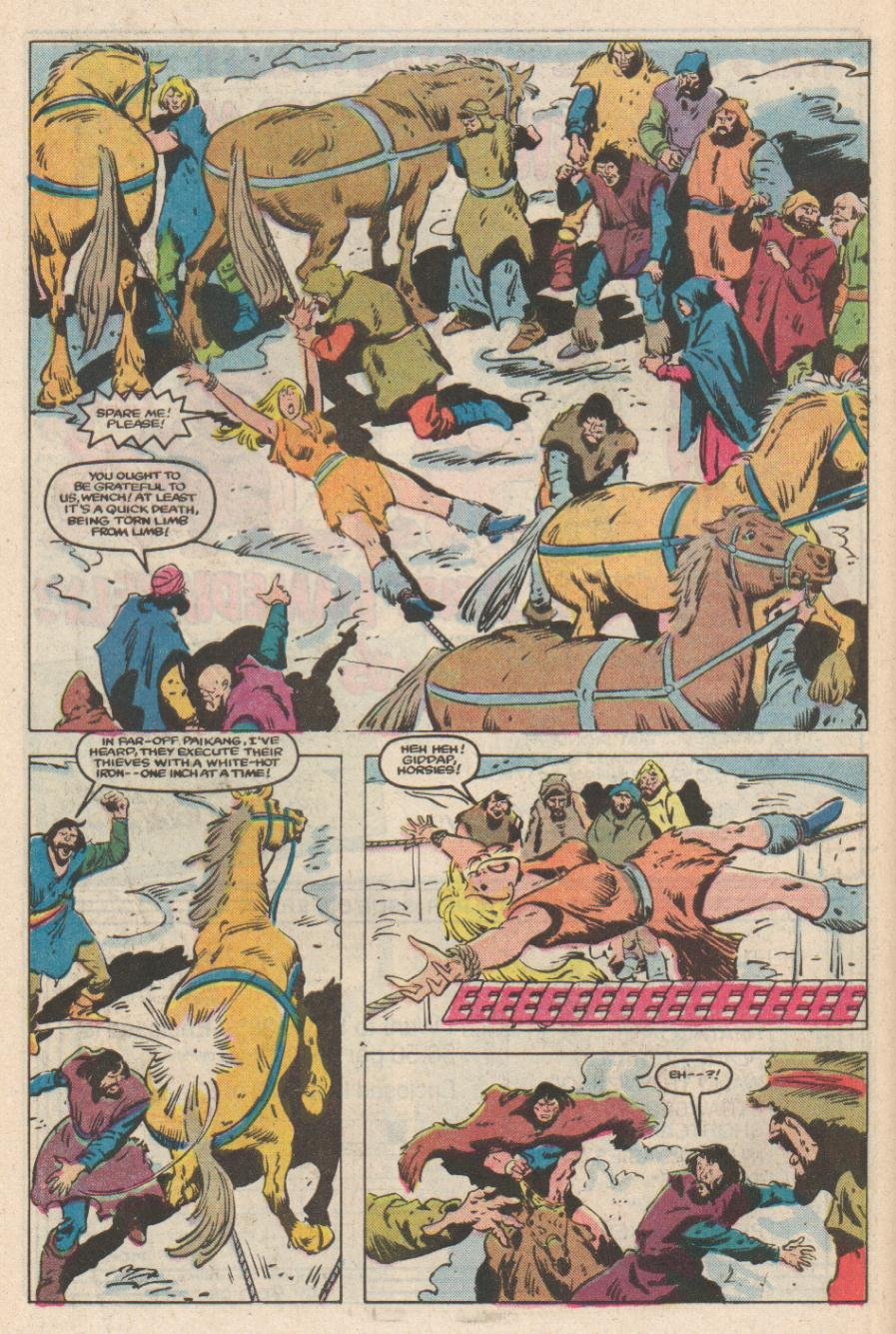 Conan the Barbarian (1970) Issue #169 #181 - English 7