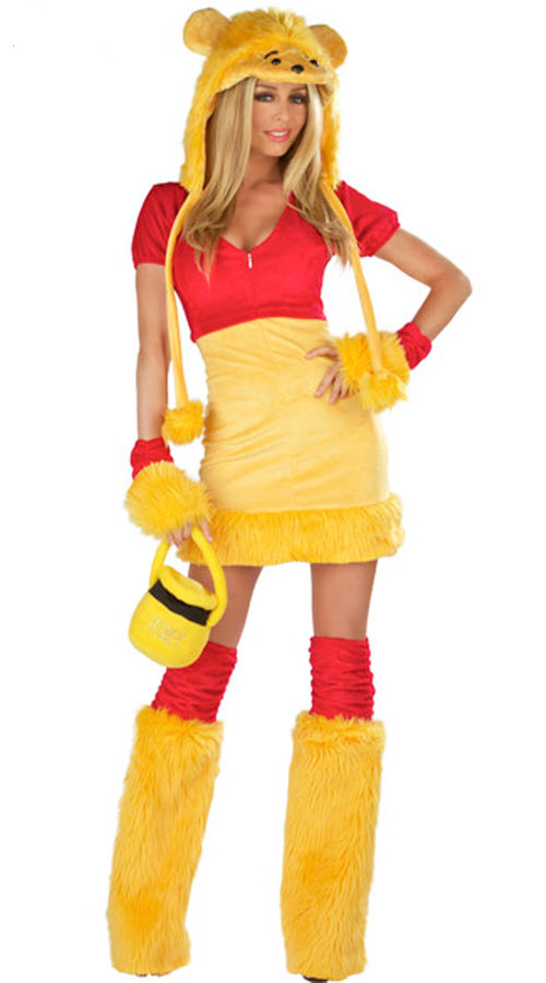Halloween: Disfraz sexy de Winnie The Pooh
