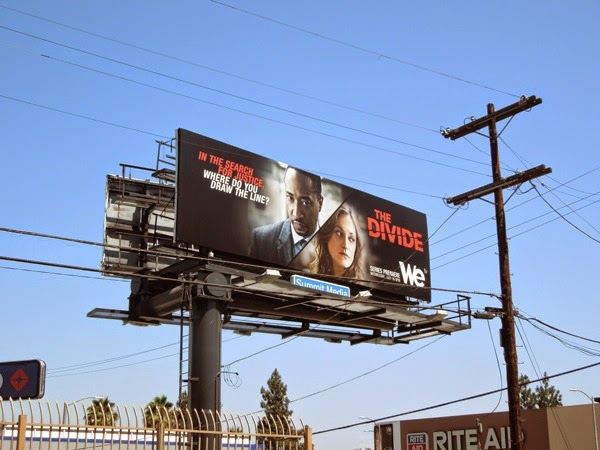 The Divide season 1 billboard