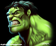 The Hulk is a fictional character, a superhero who appears in comic books .