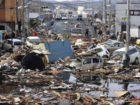Dans la dignit des japonais face l incertitude nous for Dans quel sens tourne la terre