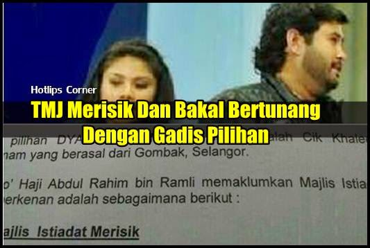 Tunku Mahkota Johor (TMJ) Bakal Bertunang